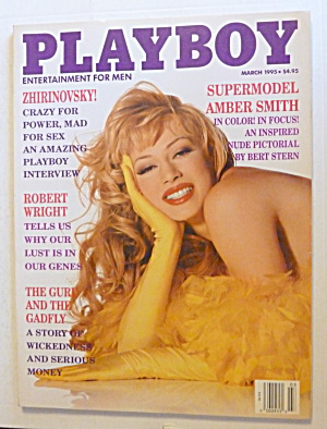 Playboy Magazine-march 1995-stacy Sanches