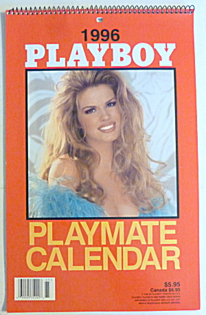 1996 Playboy Playmate Wall Calendar Julie Lynn (Image1)