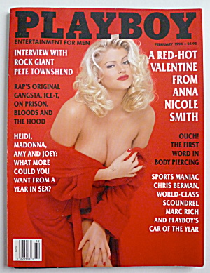 Playboy Magazine-february 1994-anna Nicole Smith