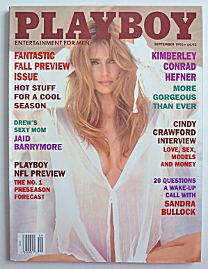 Playboy Magazine-September 1995-Donna D' Errico (Image1)