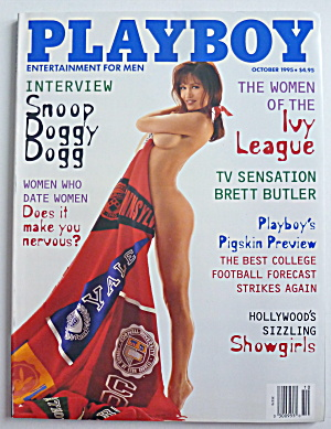 Playboy Magazine-October 1995-Alicia Rickter (Image1)