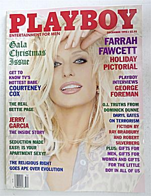 Playboy Magazine-December 1995-Farrah Fawcett (Image1)