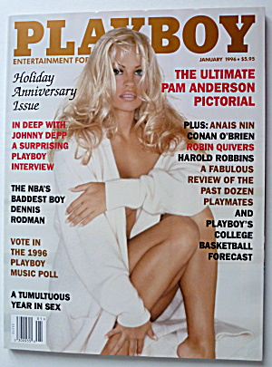 Playboy Magazine-January 1996-Pamela Anderson  (Image1)