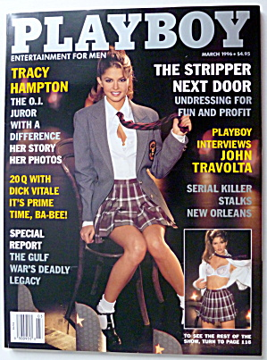 Playboy Magazine-march 1996-priscilla Taylor