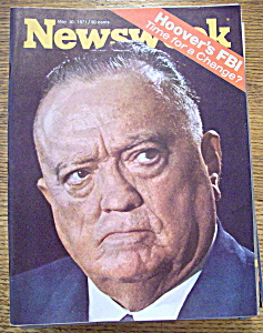 Newsweek Magazine - May 10, 1971 - Hoover's Fbi