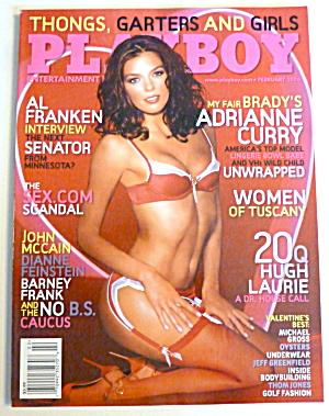 Playboy Magazine-February 2006-Adrianne Curry  (Image1)