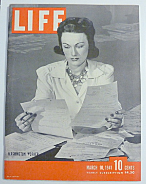 Life Magazine-March 10, 1941-Washington Worker (Image1)