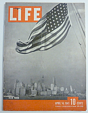 Life Magazine-april 14, 1941-new York