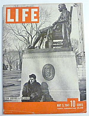 Life Magazine-May 5 1941-John Harvard & Freshman (Image1)