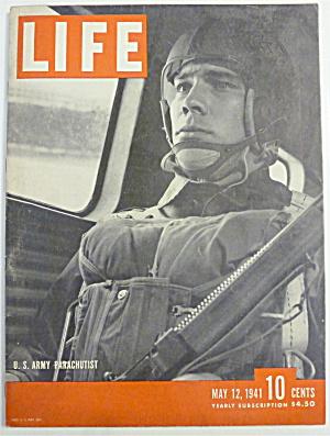 Life Magazine-May 12, 1941-U. S. Army Parachutist (Image1)