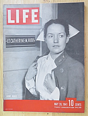 Life Magazine-may 26, 1941-army Nurse