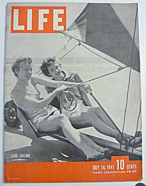 Life Magazine-July 14, 1941-Sand Sailing (Image1)