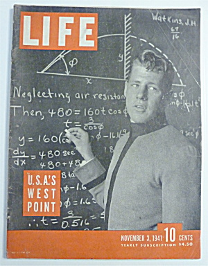 Life Magazine-november 3,1941-u. S. A. 's West Point