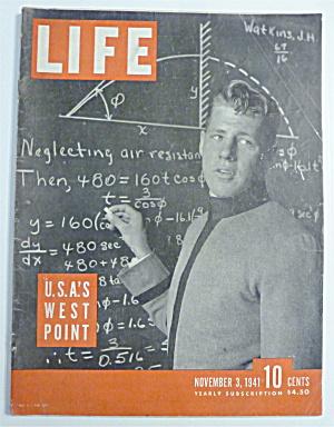Life Magazine-November 3,1941-U. S. A. 'S West Point (Image1)