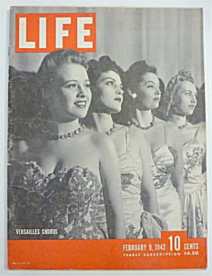Life Magazine-February 9, 1942-Versailles Chorus (Image1)