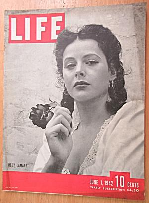 Life Magazine-June 1, 1942-Hedy Lamarr (Image1)
