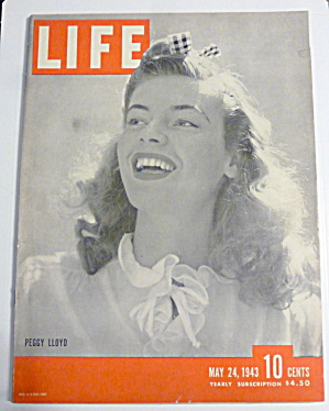 Life Magazine-May 24, 1943-Peggy Lloyd (Image1)