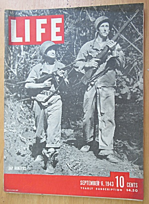 Life Magazine-September 6, 1943-Jap Hunters (Image1)