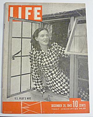 Life Magazine-December 20, 1943-U. S. Pilot's Wife (Image1)