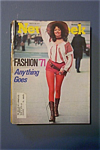 Newsweek Magazine - March 29, 1971 - Fashion '71