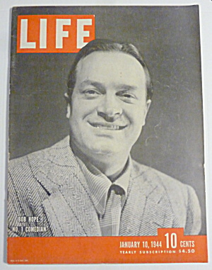 Life Magazine-january 10, 1944-bob Hope