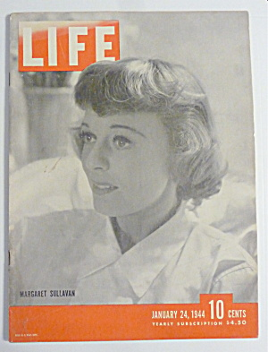 Life Magazine-January 24, 1944-Margaret Sullavan (Image1)