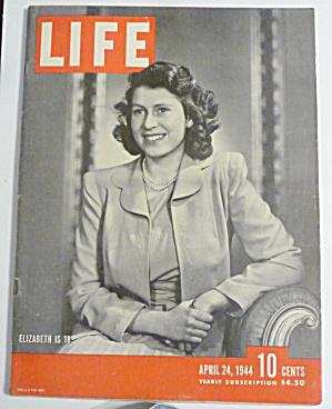 Life Magazine-April 24, 1944-Elizabeth Is 18 (Image1)
