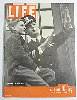 Life Magazine-May 1, 1944-Airmen's Homecoming (Image1)