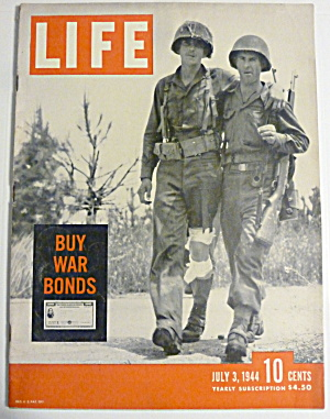 Life Magazine-July 3, 1944-Buy War Bonds (Image1)
