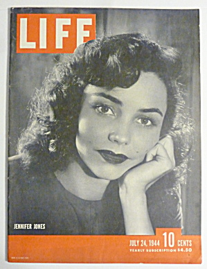 Life Magazine-july 24, 1944-jennifer Jones