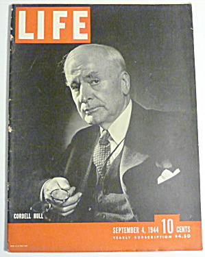 Life Magazine-september 4, 1944-cordell Hull