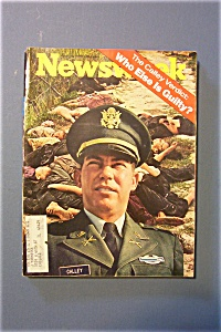 Newsweek Magazine - April 12, 1971 - The Calley Verdict