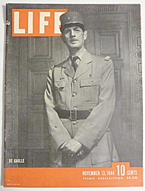Life Magazine-November 13, 1944-De Gaulle  (Image1)