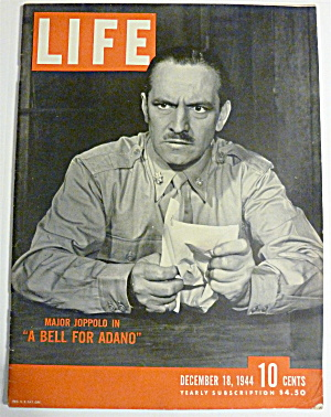 Life Magazine-december 18, 1944-a Bell For Adano