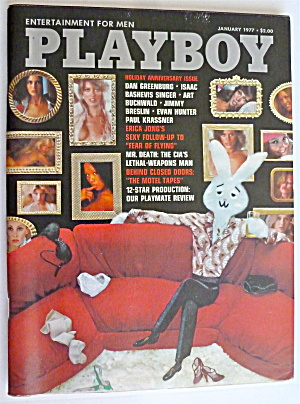Playboy Magazine-january 1977-susan Lynn Kiger