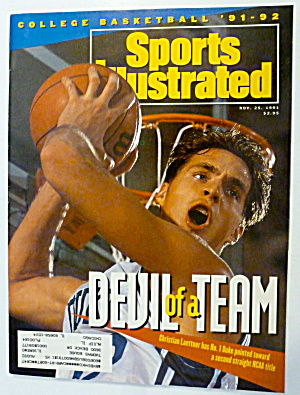 Sports Illustrated Magazine November 25, 1991 Laettner (Image1)
