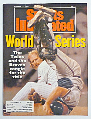 Sports Illustrated Magazine October 28, 1991 Series     (Image1)