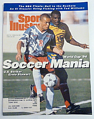 Sports Illustrated Magazine July 4, 1994 E. Stewart (Image1)