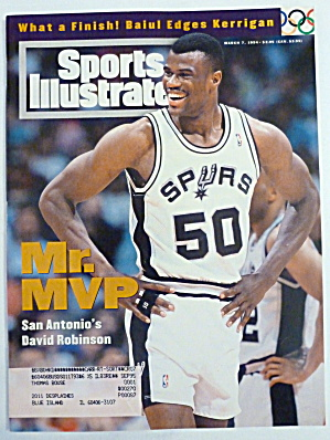 Sports Illustrated Magazine March 7, 1994 D. Robinson (Image1)