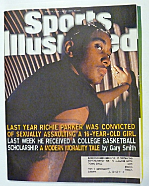 Sports Illustrated Magazine June 24, 1996 Richie Parker