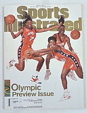 Sports Illustrated Magazine July 22, 1996 Olympic (Image1)