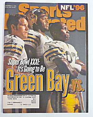 Sports Illustrated Magazine September 2, 1996 Green Bay