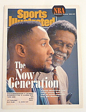 Sports Illustrated Magazine November 8, 1993 Mourning (Image1)