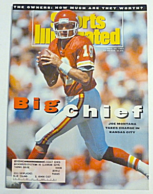 Sports Illustrated Magazine September 13, 1993 Montana