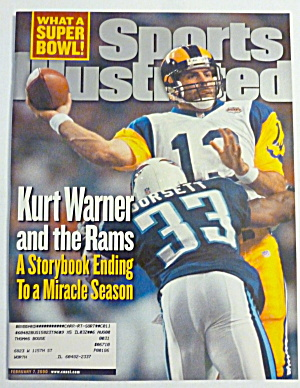 Sports Illustrated Magazine February 7, 2000 K. Warner