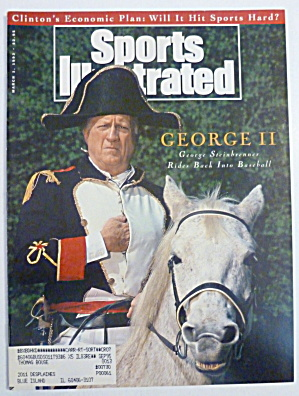 Sports Illustrated Magazine March 1, 1993 George Ii