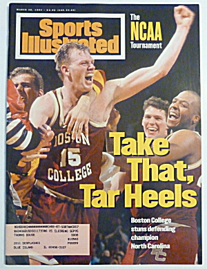 Sports Illustrated Magazine March 28, 1994 Tar Heels