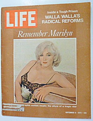 Life Magazine-september 8, 1972-marilyn Monroe