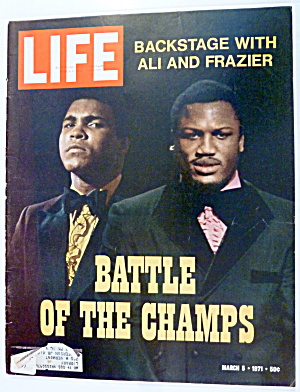 Life Magazine-march 5, 1971-battle Of The Champs