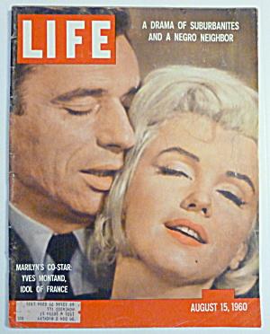 Life Magazine-August 15, 1960-Marilyn Monroe  (Image1)